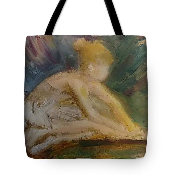 Preparing To Dance Tote Bag