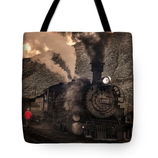 Preparing To Depart  Tote Bag