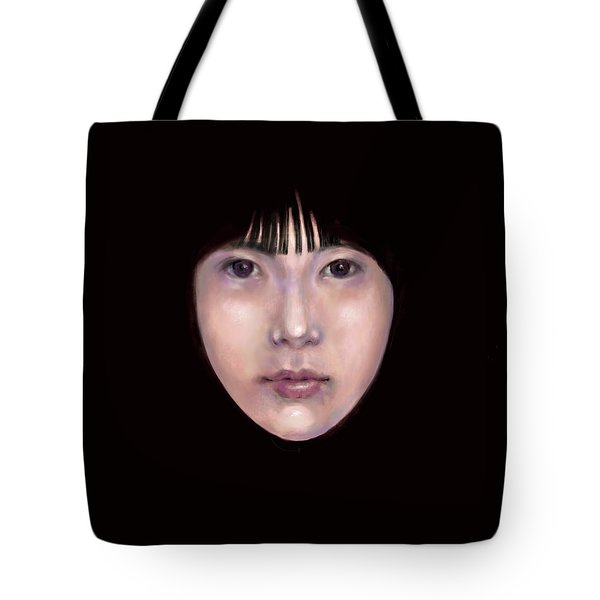 Prescient Moon, Heart Aflame Tote Bag