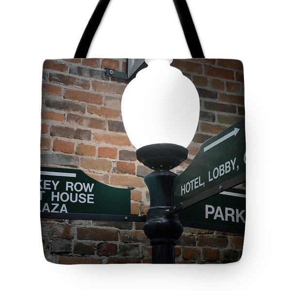 Prescott Directions Tote Bag by Bill Dutting
