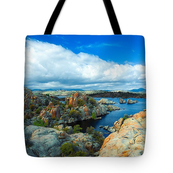 Prescott Rocks Tote Bag