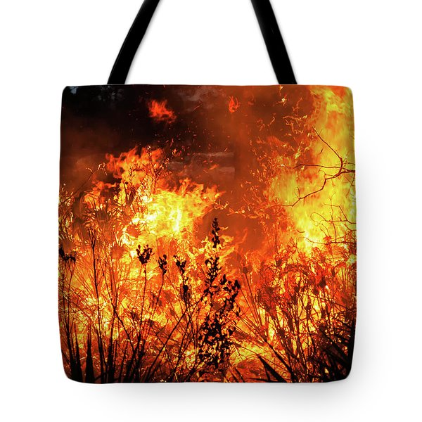 Prescribed Burn Tote Bag