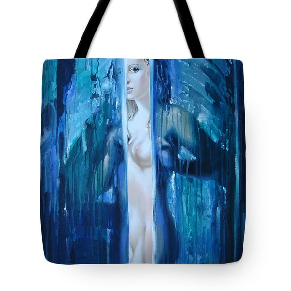 Presence Tote Bag by Sergey Ignatenko