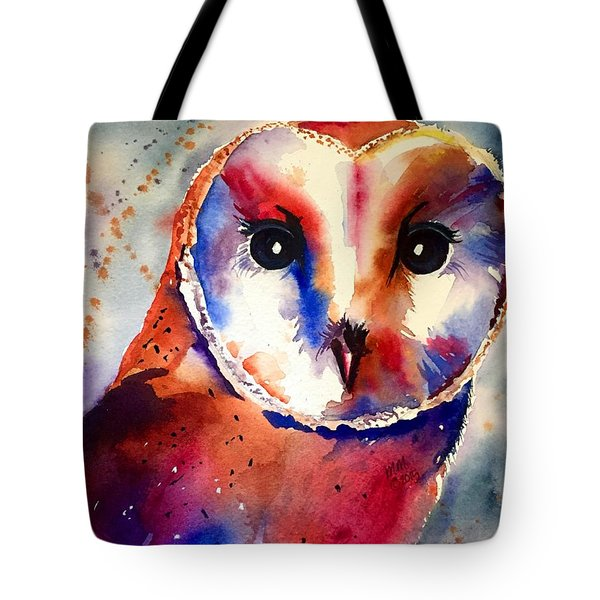 Tote Bag featuring the painting Present Moment  by Michal Madison