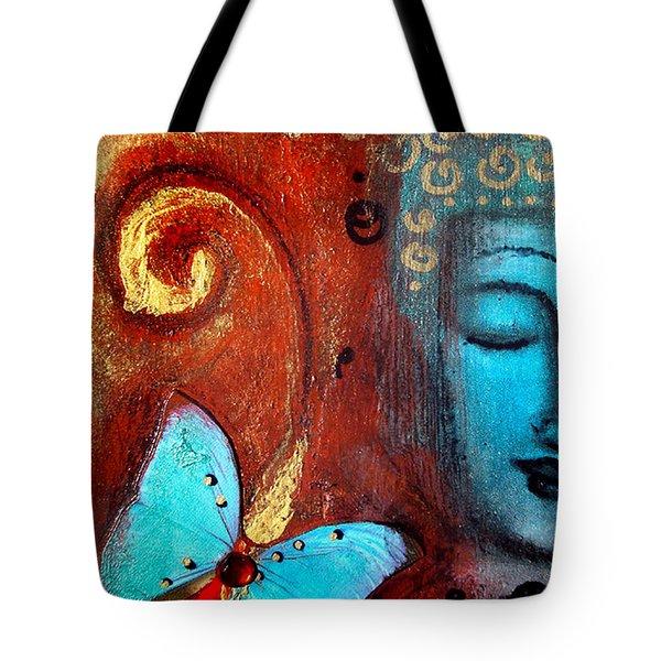 Present Moment Tote Bag by Tara Catalano