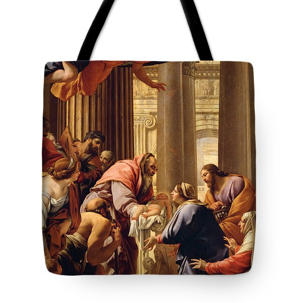 Presentation In The Temple Tote Bag