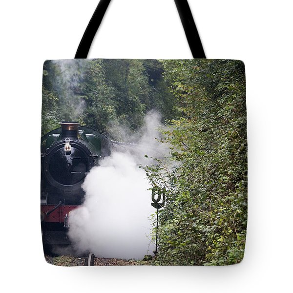 Preserved Steam Locomotive  Tote Bag