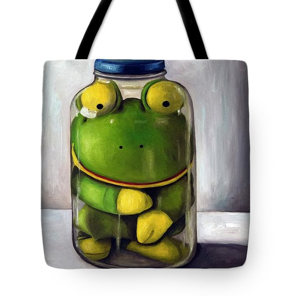 Preserving Childhood Tote Bag by Leah Saulnier The Painting Maniac