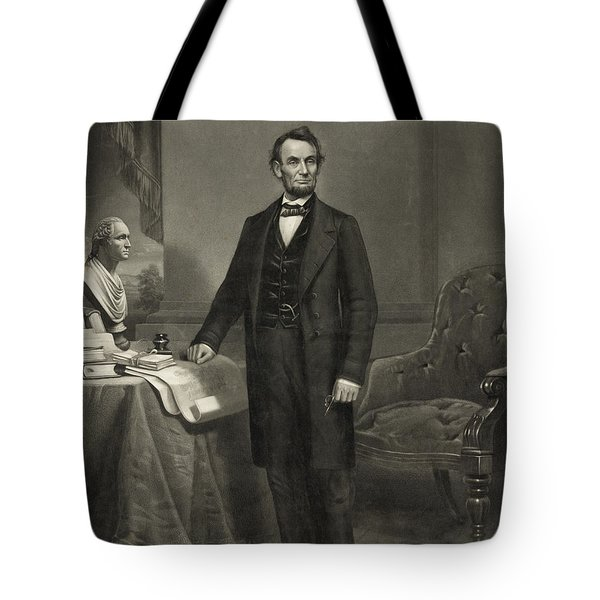 President Abraham Lincoln Tote Bag by International  Images