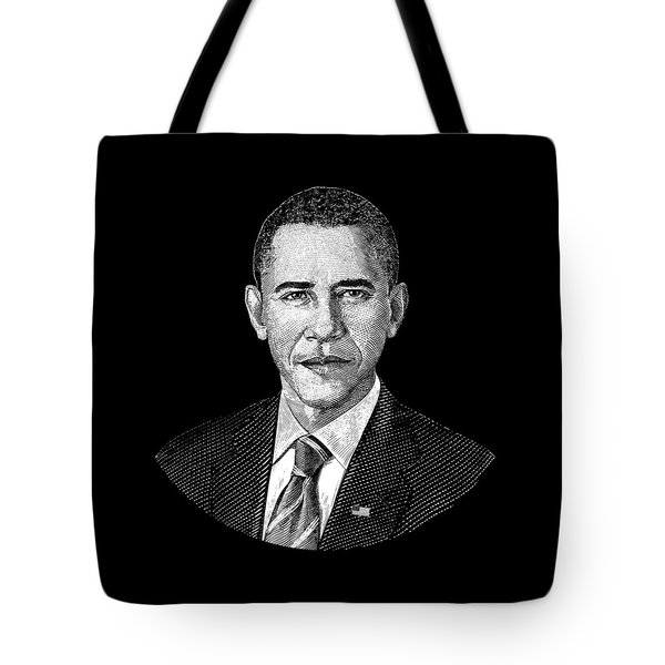 President Barack Obama Graphic Tote Bag by War Is Hell Store