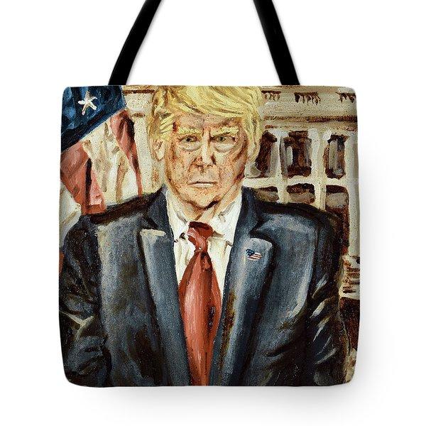 President Donald Trump Tote Bag