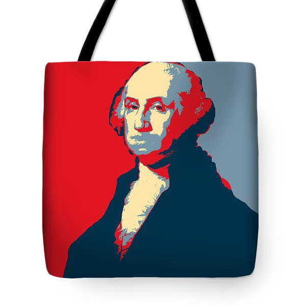 President George Washington Hope Poster Tote Bag