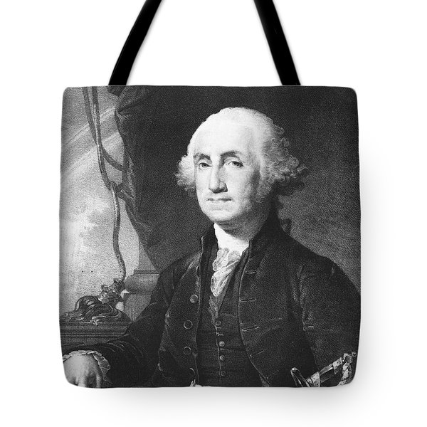 President George Washington Tote Bag by International  Images