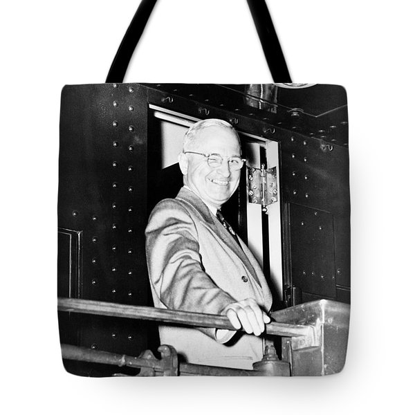 President Harry Truman Tote Bag
