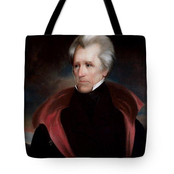 President Jackson Tote Bag