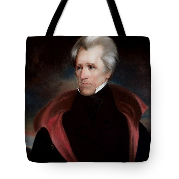 President Jackson Tote Bag by War Is Hell Store