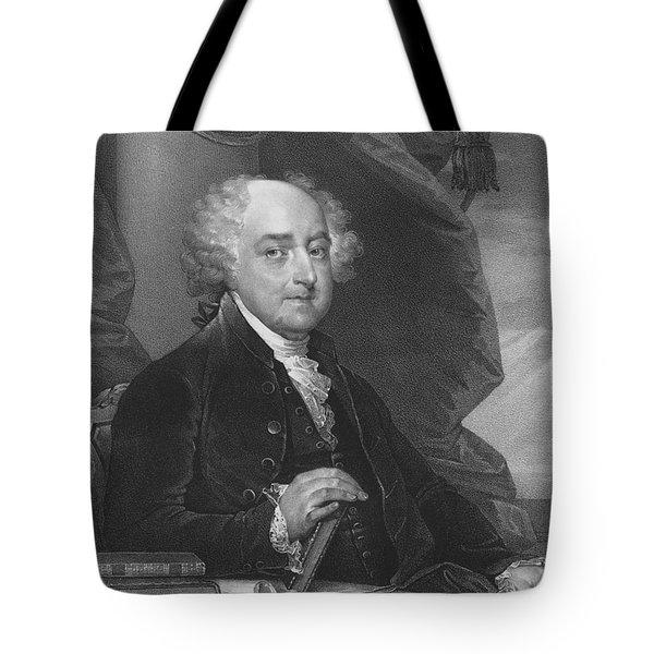 President John Adams - One Tote Bag