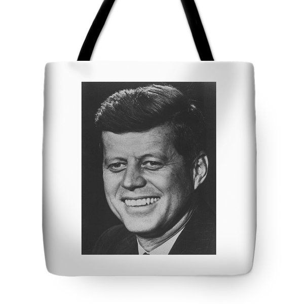President John Kennedy Tote Bag by War Is Hell Store