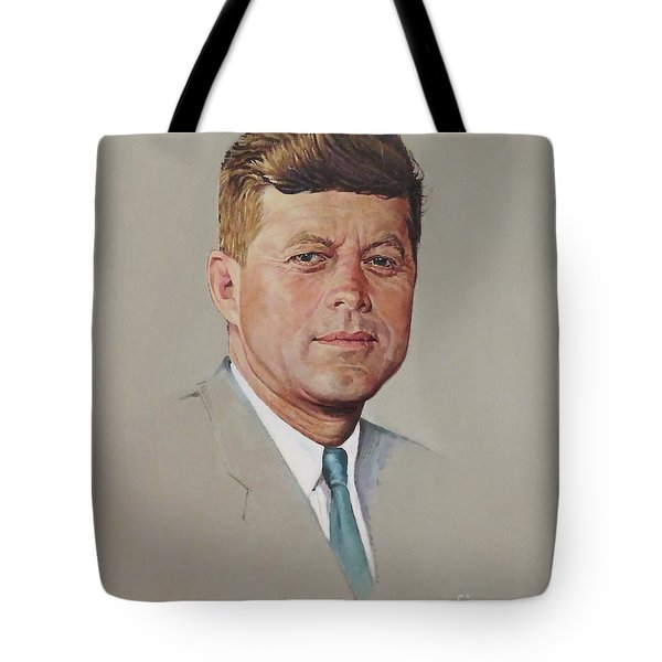 portrait of a President Tote Bag