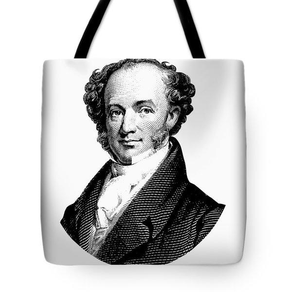 President Martin Van Buren Graphic Tote Bag