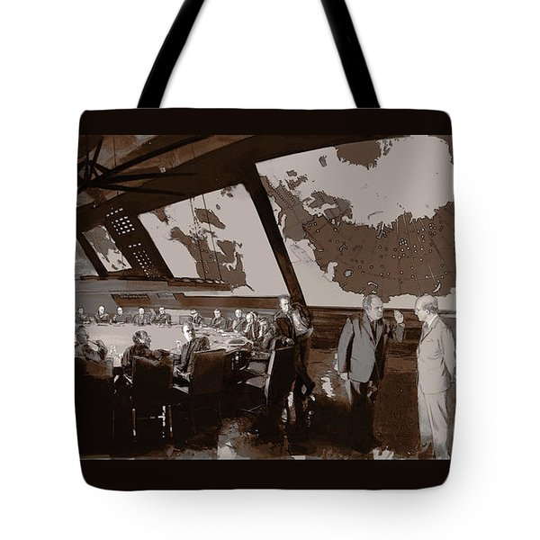 President Muffley's Dilemma Tote Bag