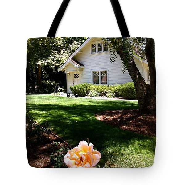 President Nixon Home  Richard Nixon Tote Bag