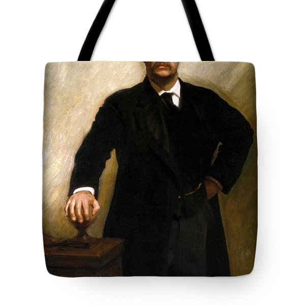 President Theodore Roosevelt Painting Tote Bag