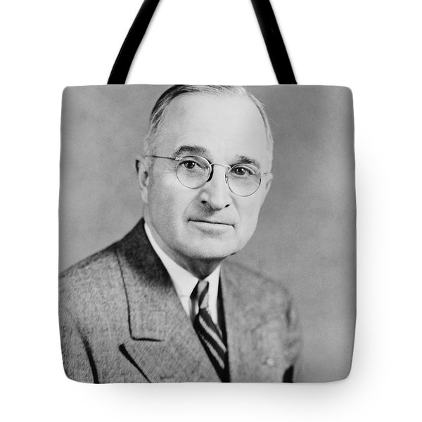 President Truman Tote Bag by War Is Hell Store