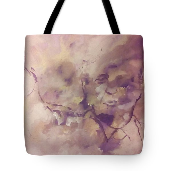 Tote Bag featuring the painting President Trump by Raymond Doward