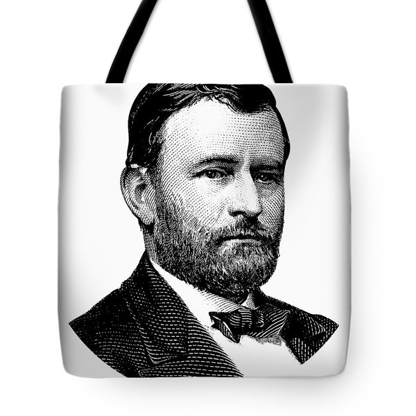 President Ulysses S. Grant Graphic White 2 Tote Bag