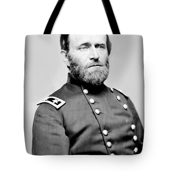 President Ulysses S Grant In Uniform Tote Bag by International  Images