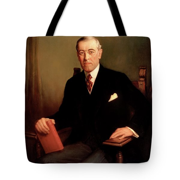 President Woodrow Wilson Tote Bag