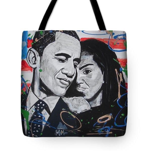 Presidential Love Tote Bag