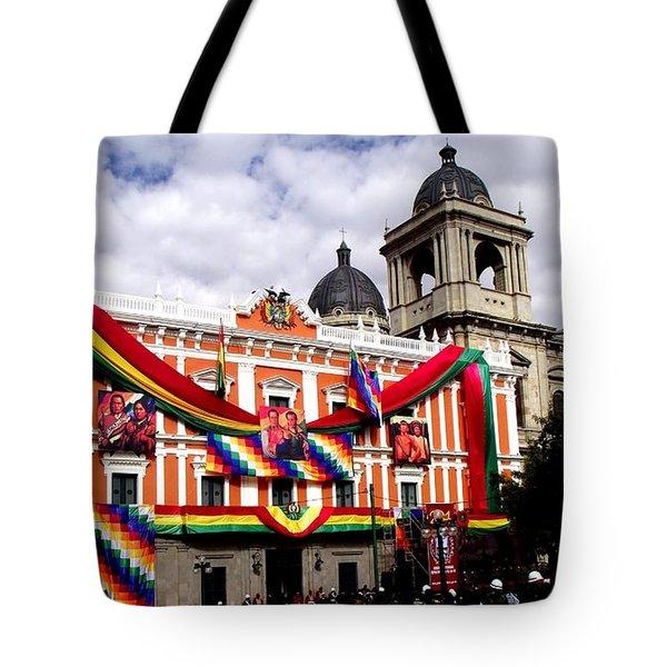 Presidential Palace La Paz, Bolivia Tote Bag