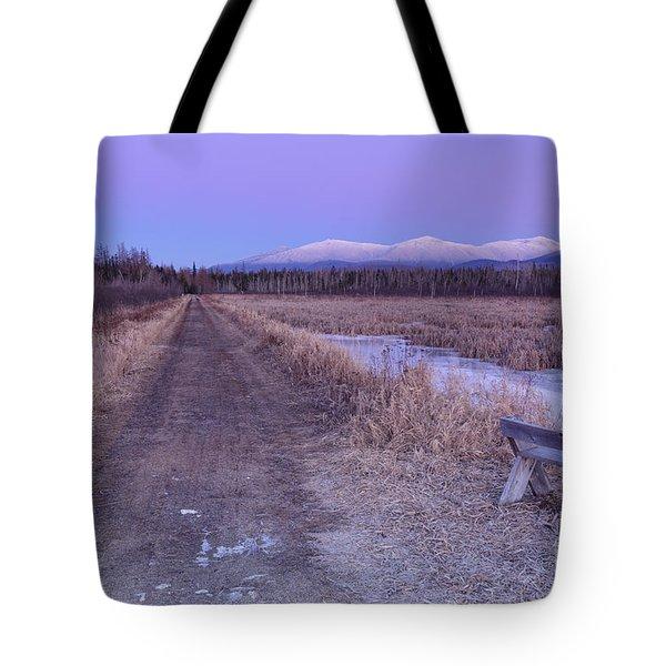 Presidential Range - Pondicherry Wildlife Refuge New Hampshire Tote Bag