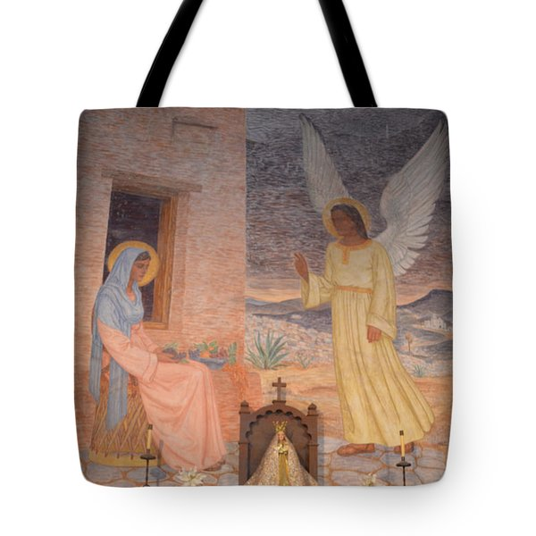 Presidio La Bahia Mission Tote Bag