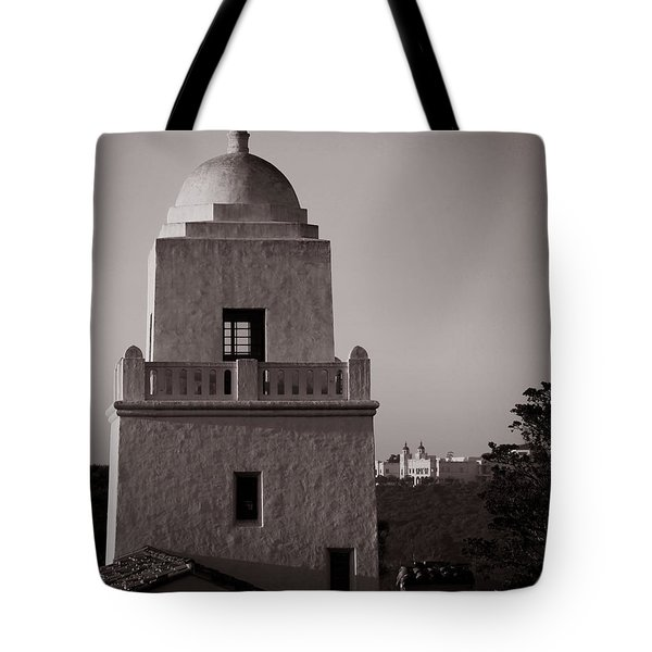 Presidio Of San Diego Tote Bag