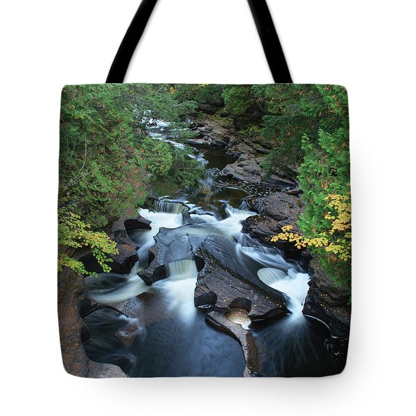 Tote Bag featuring the photograph Presque Isle by Paul Schultz
