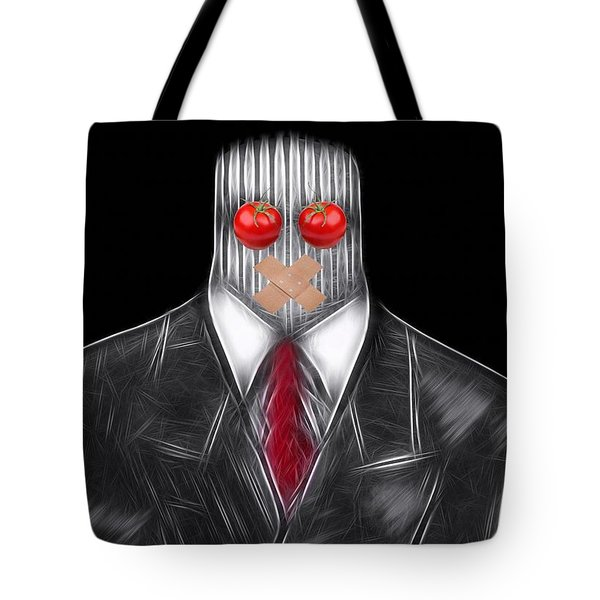 Press Officer Tote Bag