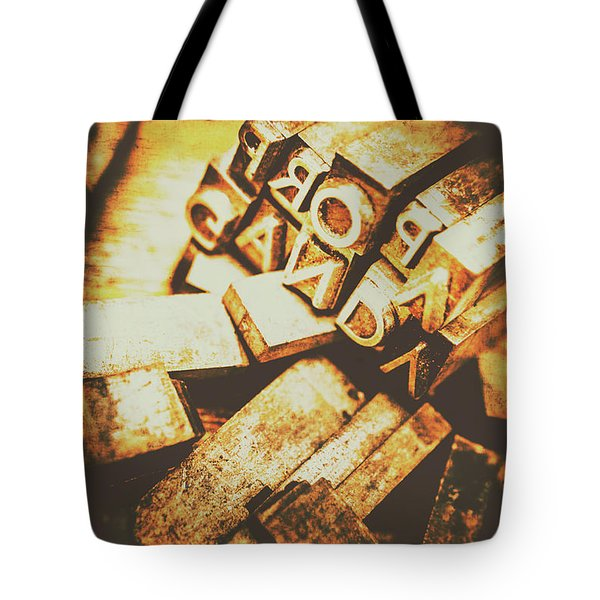 Pressing The Hegelian Dialectic   Tote Bag