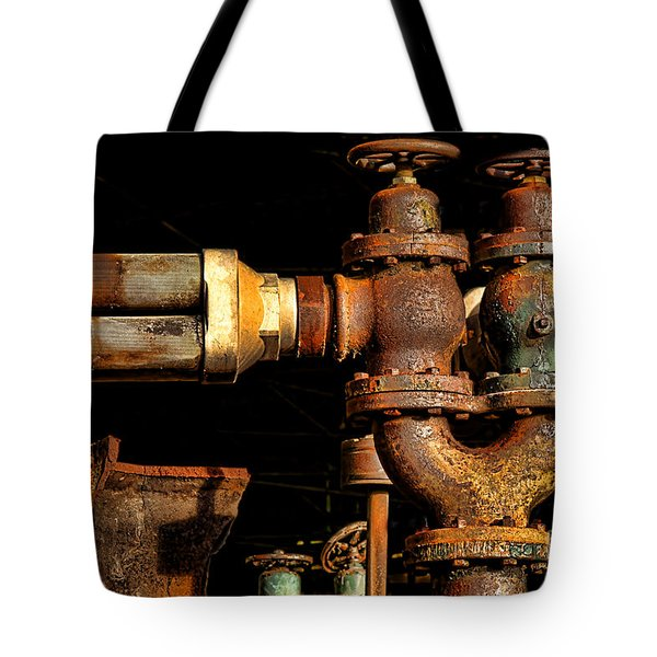 Pressure Relief Valves Tote Bag