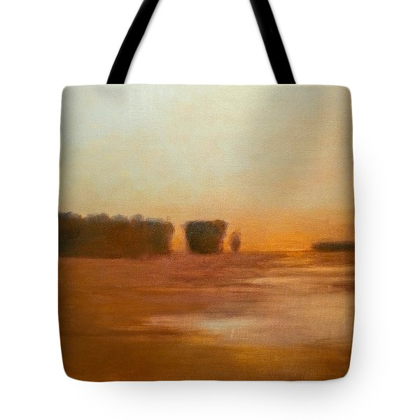 Preston After Spring Rain Creek Flood Tote Bag
