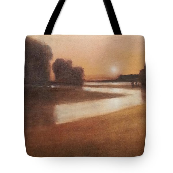 Preston Creek Flood Tote Bag