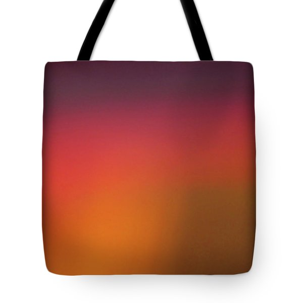 Tote Bag featuring the photograph Pretend Sunrise by CML Brown