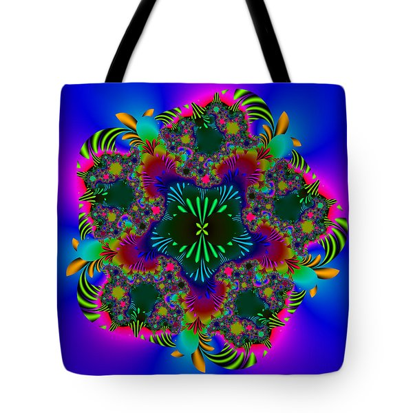 Tote Bag featuring the digital art Prettering by Andrew Kotlinski