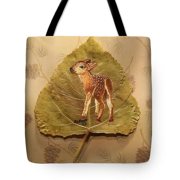 Pretty Baby Deer Tote Bag