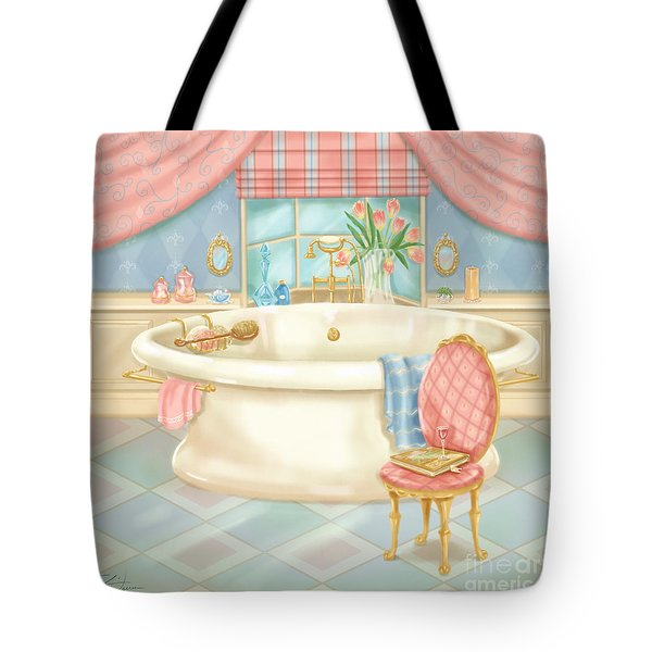 Pretty Bathrooms II Tote Bag