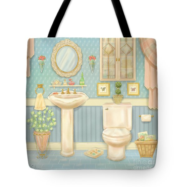 Pretty Bathrooms Iv Tote Bag