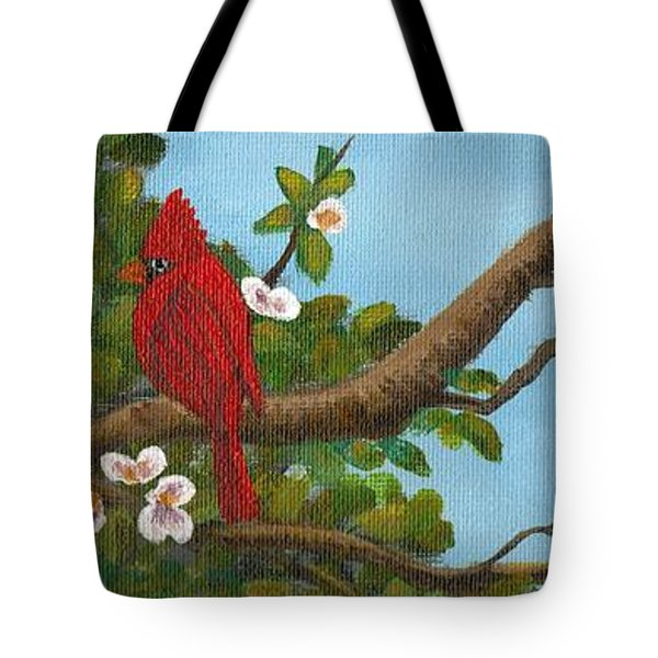 Pretty Birds Tote Bag by Sheri Keith