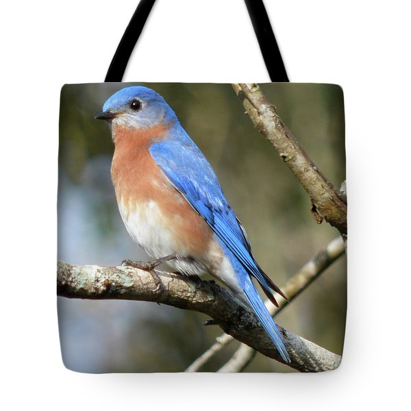 Pretty Bluebird Tote Bag by Jimmie Bartlett